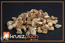 Żwir Kwarcowy Brązowy od 8 do16mm 8-16 ozdobny Piaski Kamienie Kora