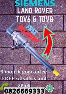 Landrover discovery 3 TDV6 diesel Injectors for sale