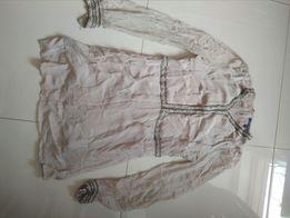 Sukienka szyfonowa French 40/L koraliki perelka