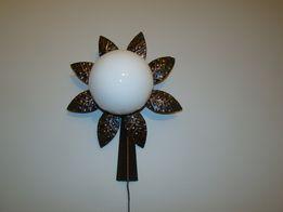 Kinkiet - lampa metaloplastyka