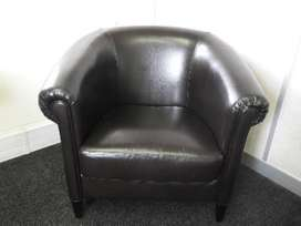 Dark brown chair