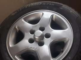 Microbus exclusive rims and tyres