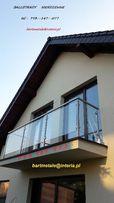 Balustrady Schody Balkony Ogrodzenia www metale23 pl