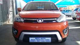 2015 GMW M4 1.5 Engine Capacity, Crossover, with Manuel Transmission