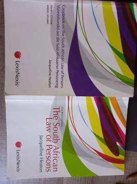 Law of Persons Textbook and Casebook