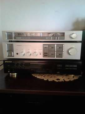 Pioneer Amp, Tuner and Dvd player