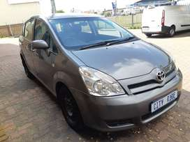 Toyota Verso (7 Seater) Year Model :2006 Engine :1.6ltr