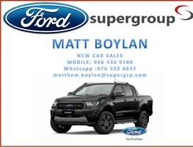 Phenomenal deals on all Fords New and Demo