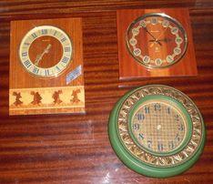 Часы кварцевые электронные Янтарь Антарес СССР Рабочие
