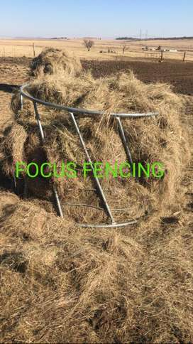 Galvanized Cattle Hay Feed