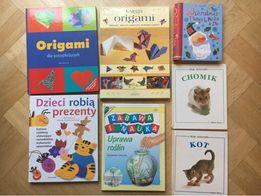 Origami, Gwiazdka, Kot, Chomik, Uprawa roślin, Dzieci robią prezenty