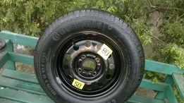 opona z felgą-dojazdówka