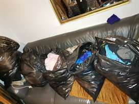Second hand clothing for sale