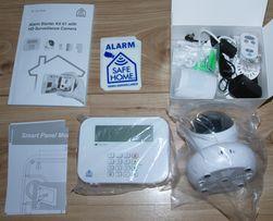 System monitoringu do domu, alarm, SAFEHOME, WIFI, czujniki
