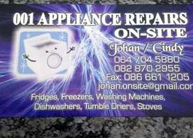 Appliance repairs northern suburbs