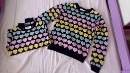 Sprzedam Nowy sweterek dziewczęcy r 122/128 H&M 2 szt