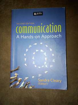 Communication Textbook for sale.