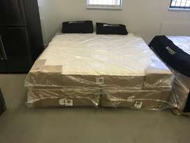 MaxiPedic Beds and Base(King Size)