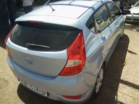 2014 Hyundai Accent 1.6 with a Service Book and Spare Key