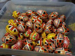 Пасхальные яйца, Деревянные, Расписные, Подарок на Пасху