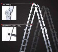 Новая алюминиевая стремянка лестница-трансформер KRAFT (4х4) Germany