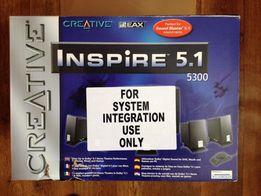 CREATIVE Inspire 5.1 5300. Звуковая система. Колонки.