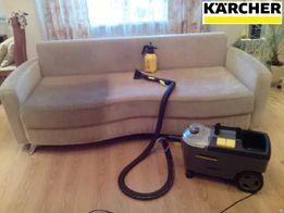 Чистка/Химчистка мягкой мебели, ковров