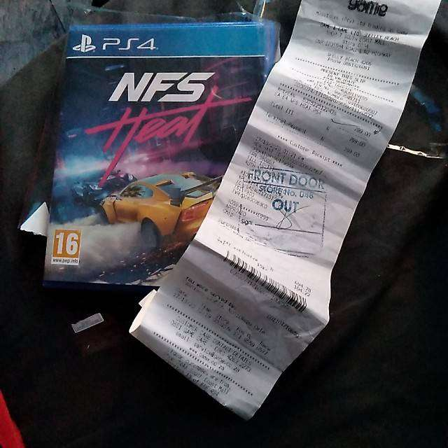Ps4 game need for speed heat. 0