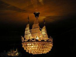 Люстра Хрустальный Корабль (Большой)
