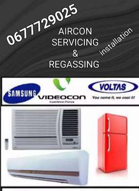 Refrigeration & Airconditioning services-