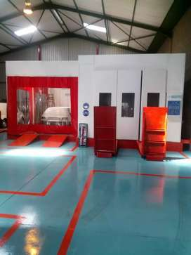 Spraybooth dismantling and installation services