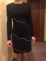 Маленькое чёрное платье на стройняшку (новое ) р.42