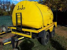 Water tank Trailer.New.5000L