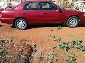 Toyota Camry 3 litre v6  1997 model im selling R27k negotiable