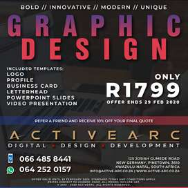 GRAPHIC DESIGN PACKAGE - R1799