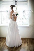 Suknia Ślubna MS Moda model Anita kolekcja 2018 rozmiar 36