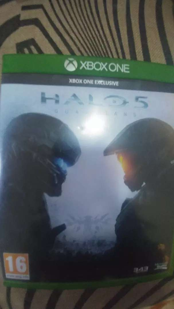 Halo 5 Xbox one game CD 0