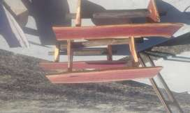 4 Seater Wooden Patio Set