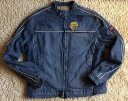 джинсовая утепленная мужская курточка разм. L