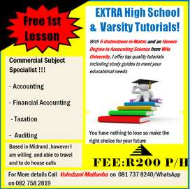 Get A's in Accounting, Taxation and Auditing!!!