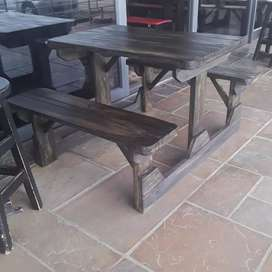 Picnic and patio benches