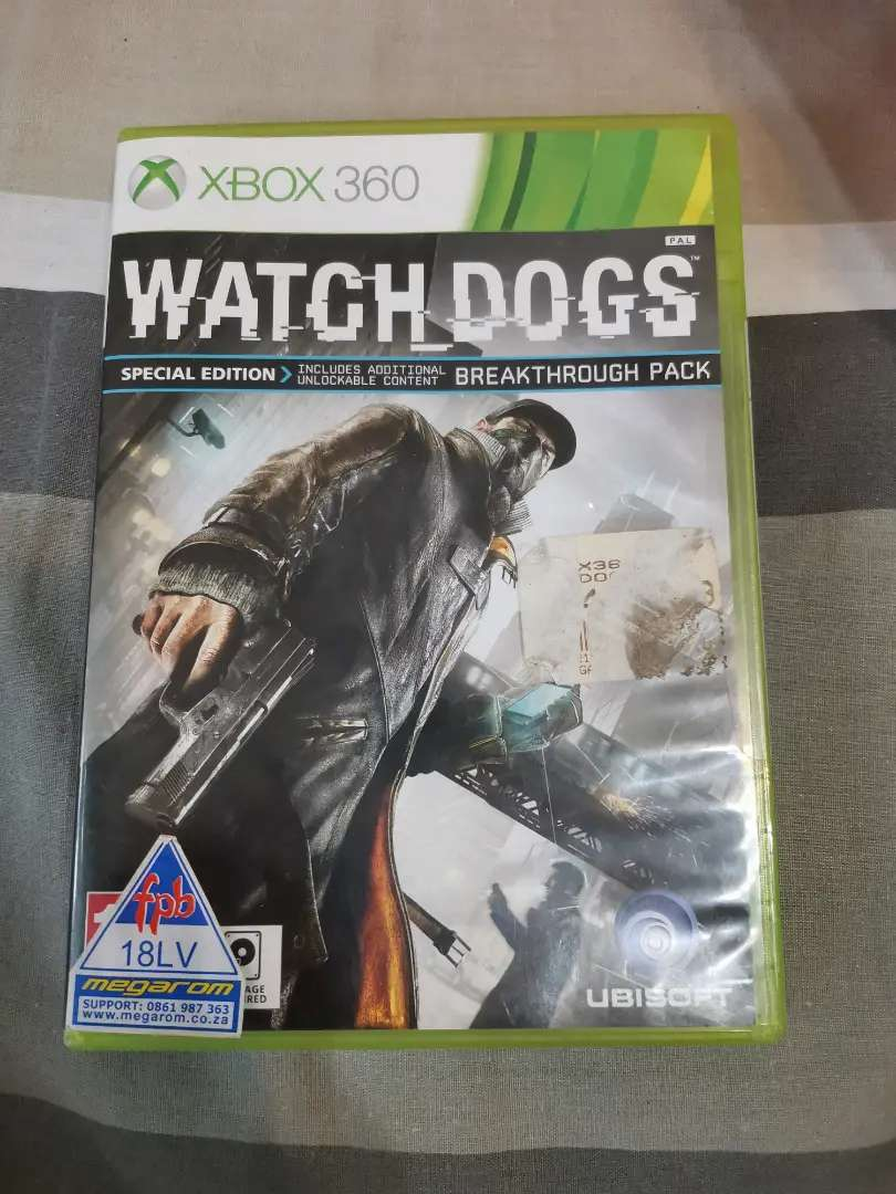 Watch Dogs Special Edition - Xbox 360 0
