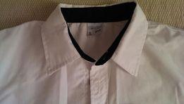 Рубашка р.128, новая, белая