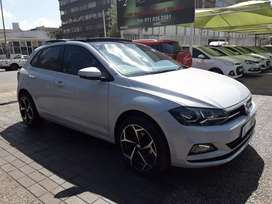 2018 VW polo 8 sunroof on sale