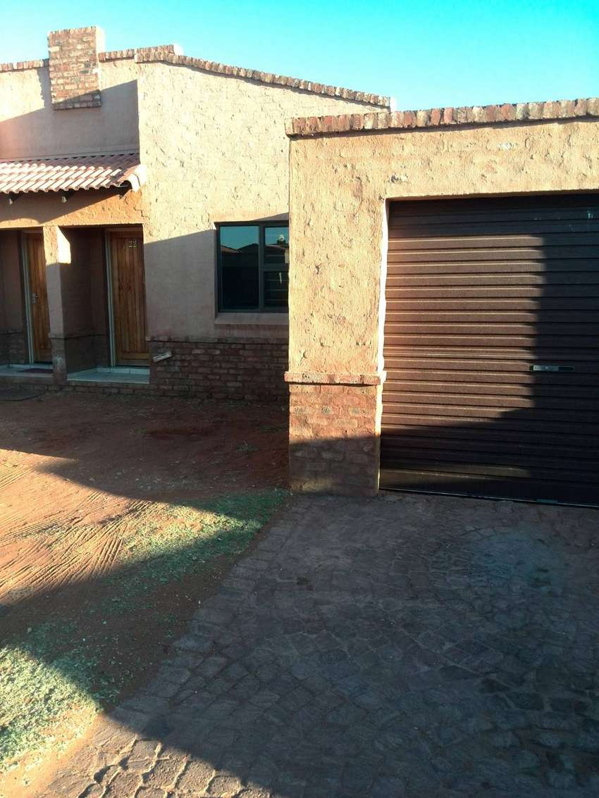 Kathu  2 Bedroom Townhouse to rent