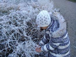 ПУХОВИК на девочку. Пальто зимнее 3 000руб.