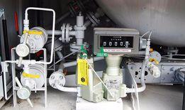 Газовый счетчик, расходомер (голова) на газовоз.