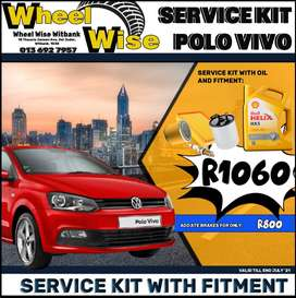 Polo Vivo Service Kit ONLY R1060 at Wheel Wise Witbank!
