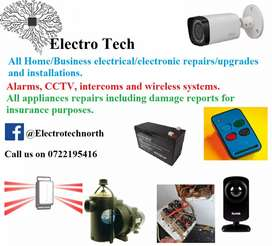 New and repairing of alarm systems.  New remote switching from phone