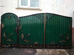 Кованые ворота, калитки, мебель